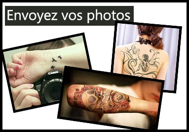 Photo de tatouage ephemere